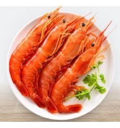 冷冻阿根廷红虾 L1(大号) 2kg 30-40只 大虾 原装进口 海鲜水产